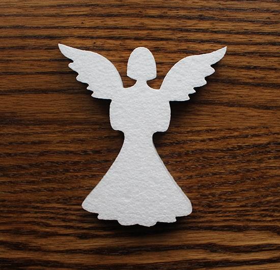 komunijna dekoracja aniołek