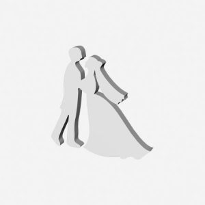 styropianowa dekoracja para weselna