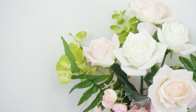 dekoracje komunijne róże
