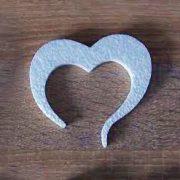 serce ze styropianu