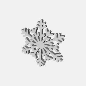 ozdoba śnieżna gwiazdka na boże narodzenie