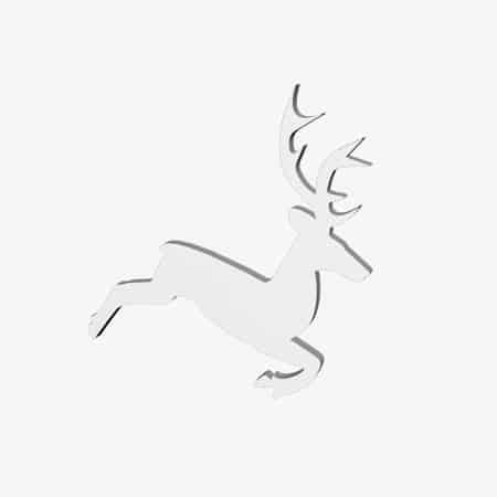 renifer ze styropianu dekoracja świąteczna