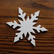 śnieg styropianowy - ozdoba na święta Bożego Narodzenia