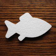 ryba ze styropianu