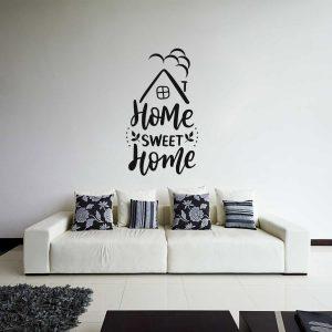 naklejka naścienna sweet home