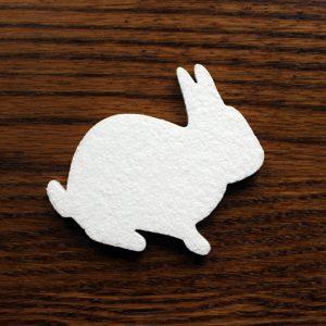 dekoracja wielkanocny zajączek królik
