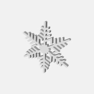 śnieżynki styropianowe