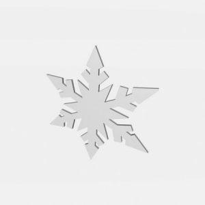 śnieg ze styropianu
