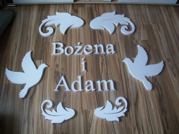 gołębie i imiona weselne