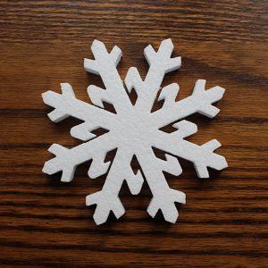 bożonarodzeniowe gwiazdki styropianowe do dekoracji świątecznych