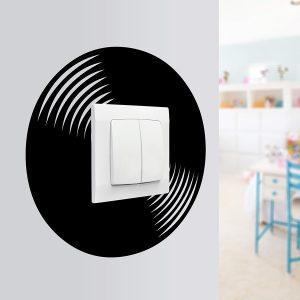 naklejka okrągła na ściany