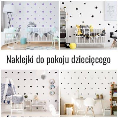 naklejki na ściany do pokojów dziecięcych