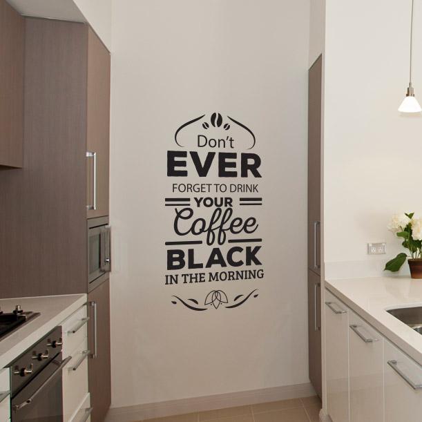 Naklejki Na ścianę Do Kuchni Kawa 18
