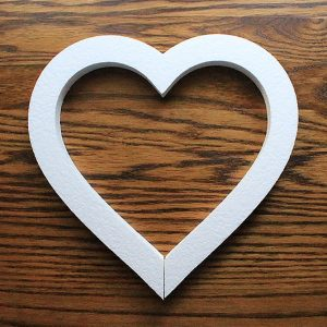serce do dekorowania sal weselnych i kościołów