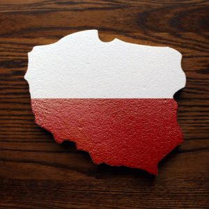 styropianowa mapa polski